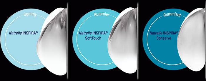 Cohesive Silicone Gel Breast Implants by Natrelle