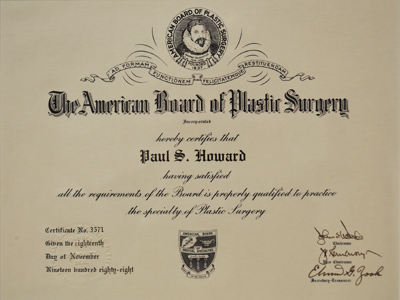 American Board of Plastic Surgeons